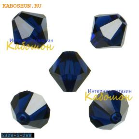 Swarovski Xilion beads 5 мм Dark Indigo
