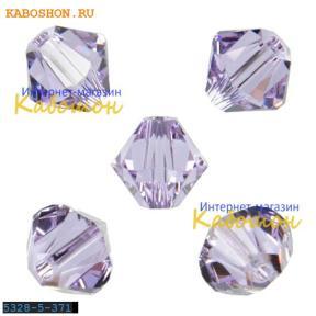 Swarovski Xilion beads 5 мм Violet