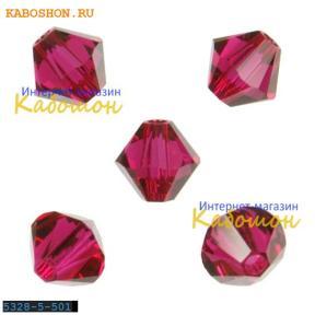 Swarovski Xilion beads 5 мм Ruby