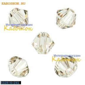 Swarovski Xilion beads 6 мм Lt.Silk