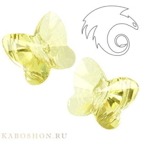 Swarovski Butterfly Bead 10 мм Jonqui 5754-10-213