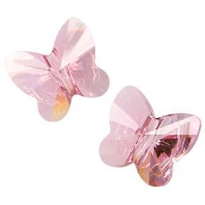Swarovski Butterfly Bead 12 мм Light Rose