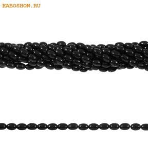 Жемчуг Swarovski рис 4 мм Crystal Mystic Black