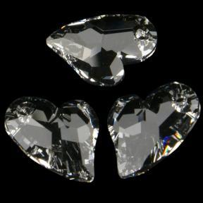 Swarovski Devoted 2 U Heart 17 мм Crystal