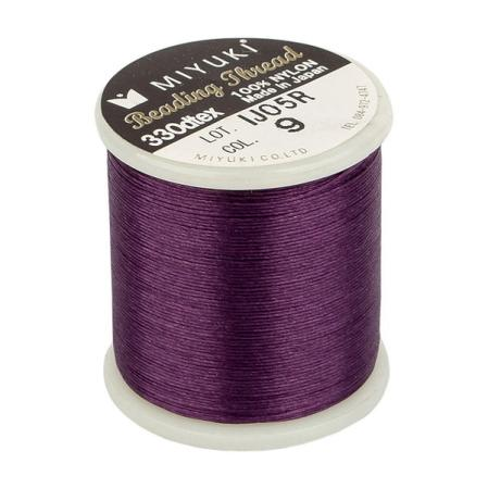 Нить Miyuki нейлоновая 50 м пурпур