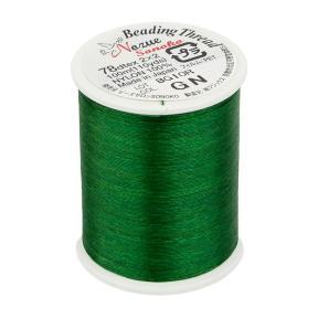 Нить для бисера Miyuki SoNo 100 м зеленая