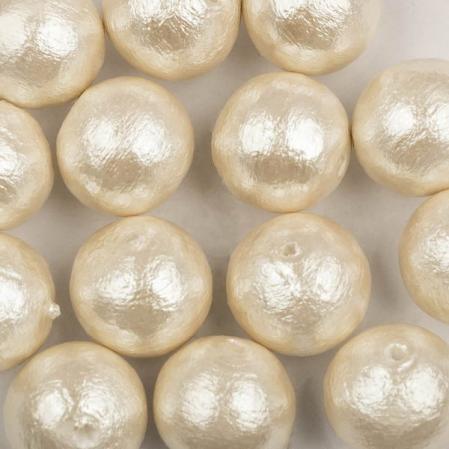 Miyuki Cotton Pearls 10 мм Off-White