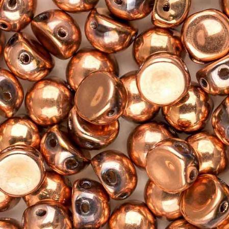 Cabochon 6 мм Crystal Capri Gold Full (10 шт)