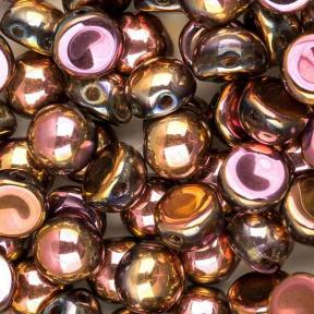Cabochon 6 мм Crystal Full Capri Rose (10 шт)