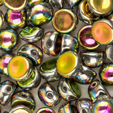 Cabochon 6 мм Crystal Vitrail Full (10 шт)