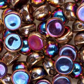 Cabochon 6 мм Crystal Full Sliperit (10 шт)