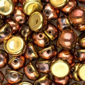 Cabochon 6 мм Crystal California Gold Rush (10 шт)