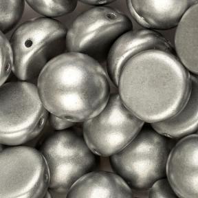 Dome Bead 10х6 мм Aluminium Silver (5 шт)