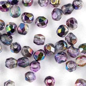 Fire polished 3 мм Crystal Magic Purple