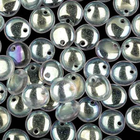 Lentils 6 mm Crystal AB