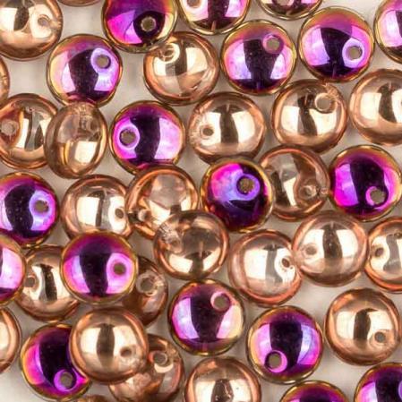 Lentils 6 mm Crystal Sliperit