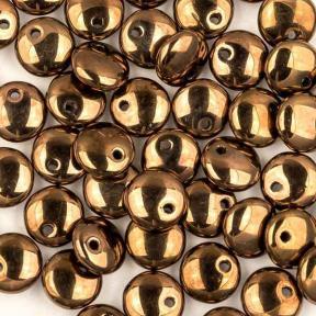 Lentils 6 mm Jet Bronze