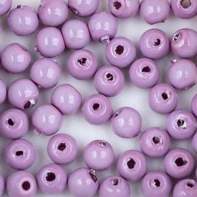 Стеклянный жемчуг 2 мм Shiny Lilac