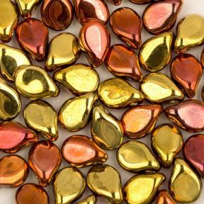 Pip Beads 5х7 мм Crystal California Gold Rush