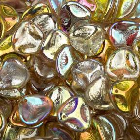 Rose Petal 14х13 мм Crystal Lemon Rainbow (10 шт)