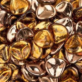 Rose Petal 14х13 мм Topaz Capri Gold (10 шт)