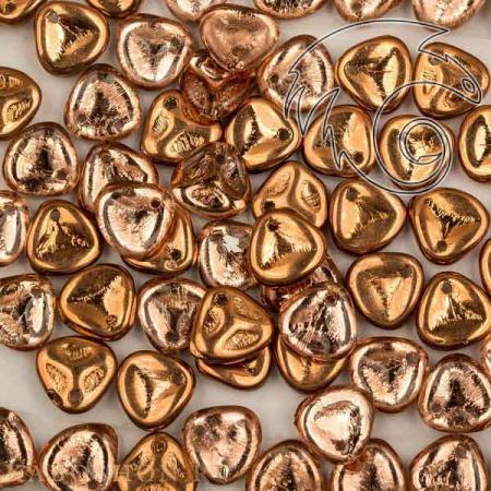 Rose Petal 8х7 мм Crystal Capri Gold Rose-8-00030-27101-1