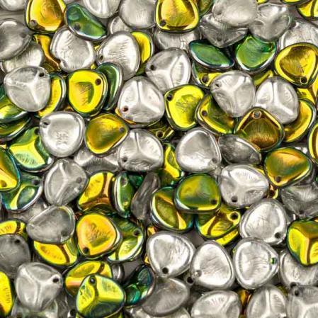 Rose Petal 8х7 мм Crystal Vitrail