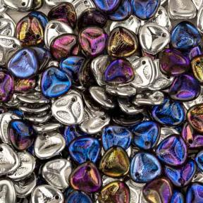 Rose Petal 8х7 мм Crystal Bermuda Blue (10 шт)