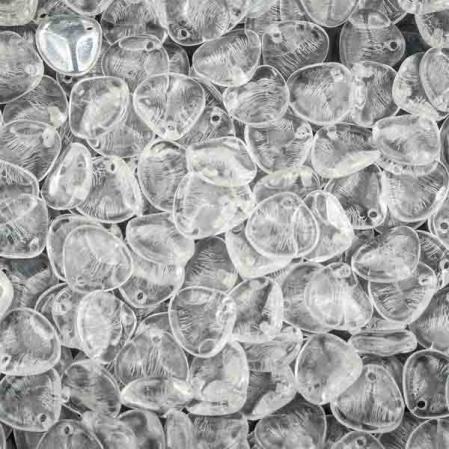 Rose Petal 8х7 мм Crystal (10 шт)