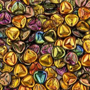 Rose Petal 8х7 мм Crystal Magic Copper (10 шт)