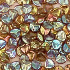 Rose Petal 8х7 мм Crystal Brown Rainbow (10 шт)
