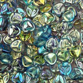 Rose Petal 8х7 мм Crystal Blue Rainbow (10 шт)