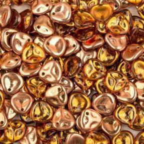 Rose Petal 8х7 мм Topaz Capri Gold (10 шт)