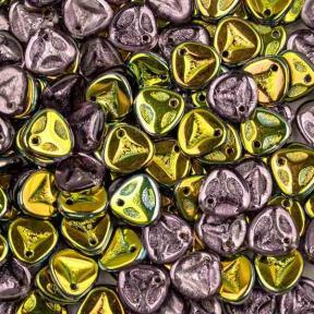 Rose Petal 8х7 мм Light Violet Vitrail (10 шт)