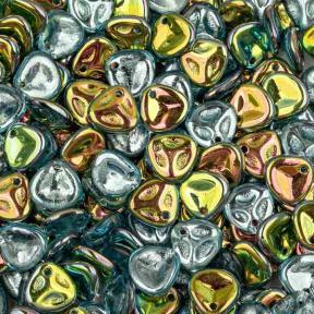 Rose Petal 8х7 мм Aqua Vitrail (10 шт)