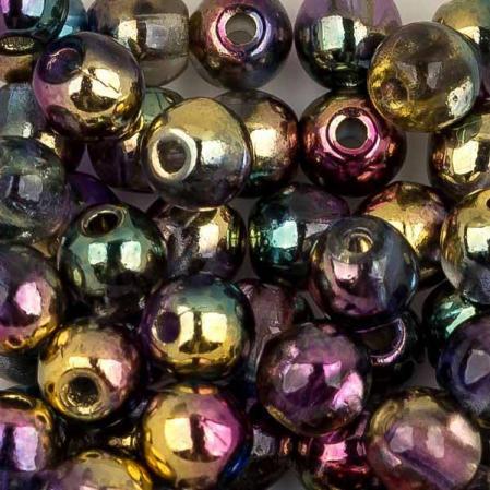 Round Beads 3 мм Crystal Sunny Magic Royal