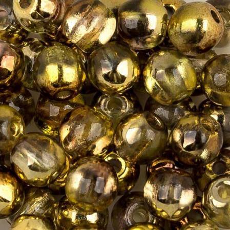 Round Beads 3 мм Crystal Sunny Magic Gold