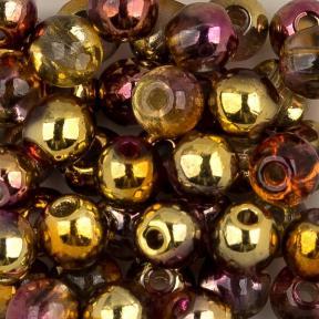 Round Beads 3 мм Crystal Sunny Magic Ember