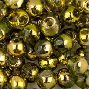 Round Beads 3 мм Crystal Sunny Magic Citrus