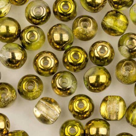 Round Beads 4 мм Crystal Sunny Magic Citrus