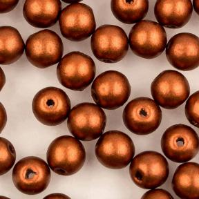 Round beads 4 мм Copper