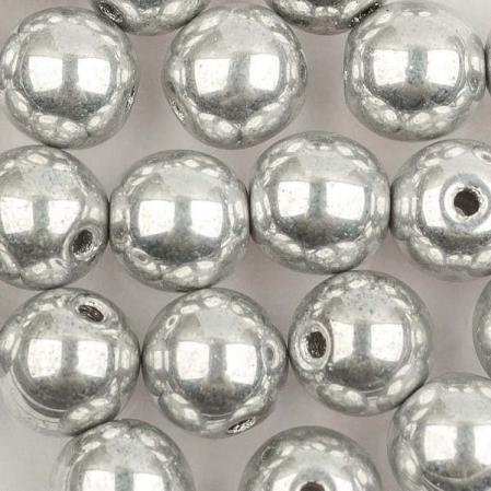 Round beads 6 мм Crystal Labrador Full