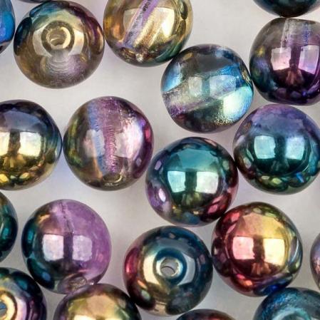 Round Beads 6 мм Crystal Sunny Magic Royal