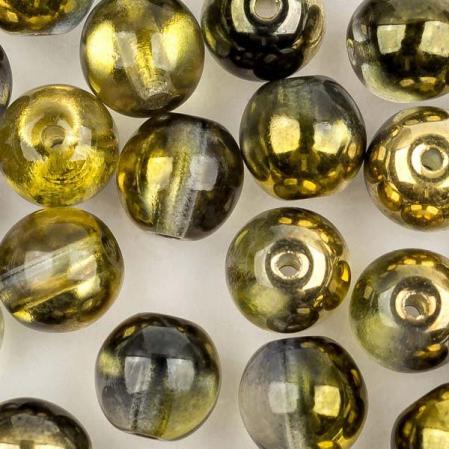 Round Beads 6 мм Crystal Sunny Magic Night