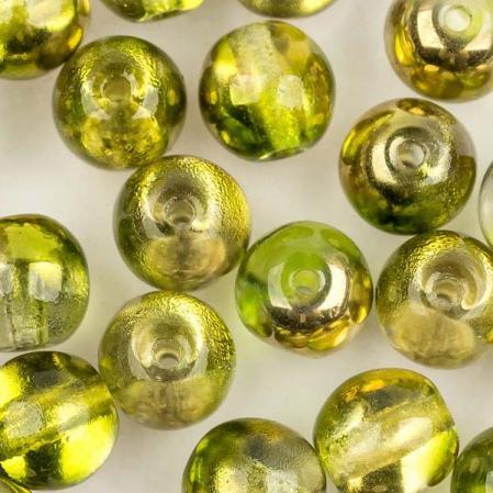 Round Beads 6 мм Crystal Sunny Magic Citrus