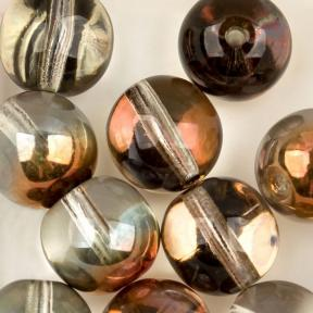 Round beads 8 мм Crystal Sunset (10 шт)