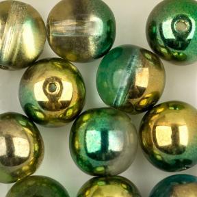 Round Beads 8 мм Crystal Sunny Magic Summer Green