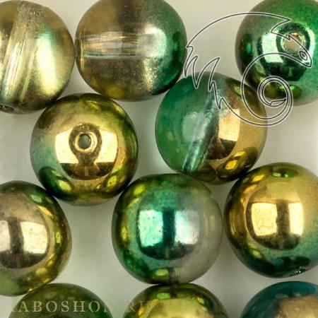 Round Beads 8 мм Crystal Sunny Magic Summer Green (10 шт) RoundB-8-00030-98003