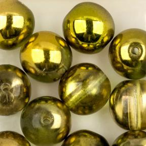 Round Beads 8 мм Crystal Sunny Magic Citrus (10 шт)