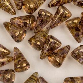 Spike 5х8 мм Crystal Lila Gold Luster